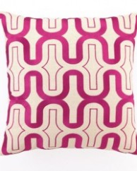 Fuchsia Honeycomb Pillow