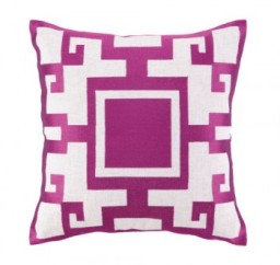 Fuchsia Kara Pillow