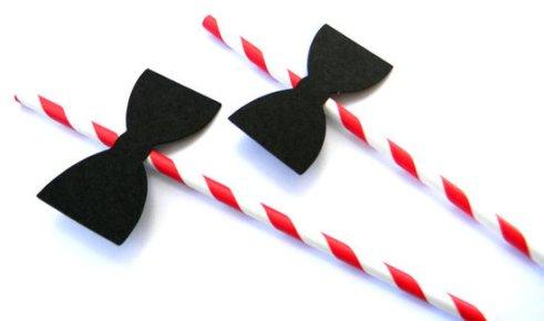 bowtie straws
