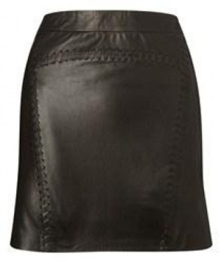 french connection_leather_skirt