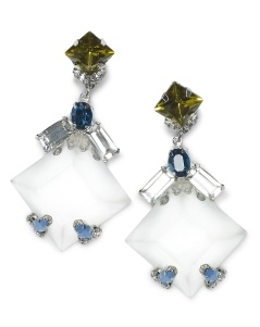club monaco drop earrings