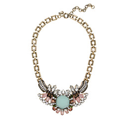 crystal compilation necklace