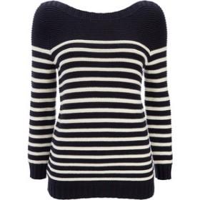Navy stripe sweater