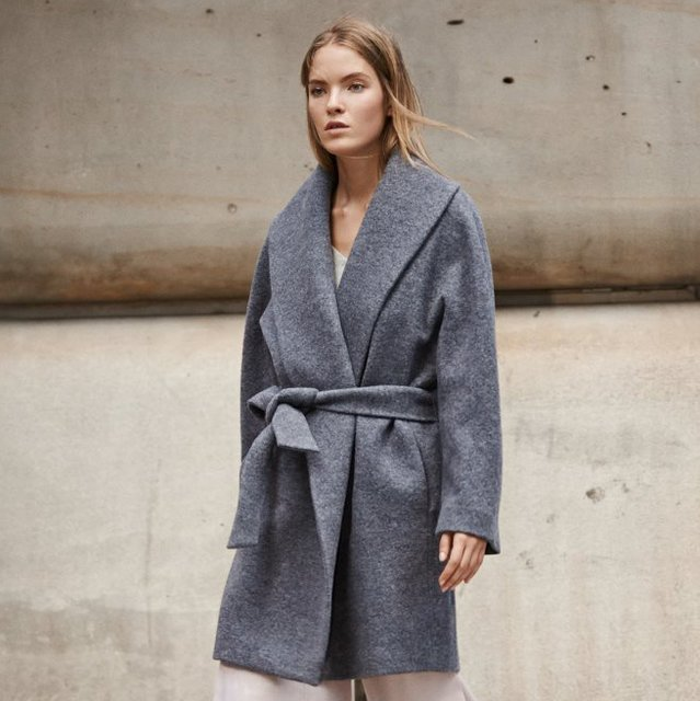 Rylie Wrap Coat